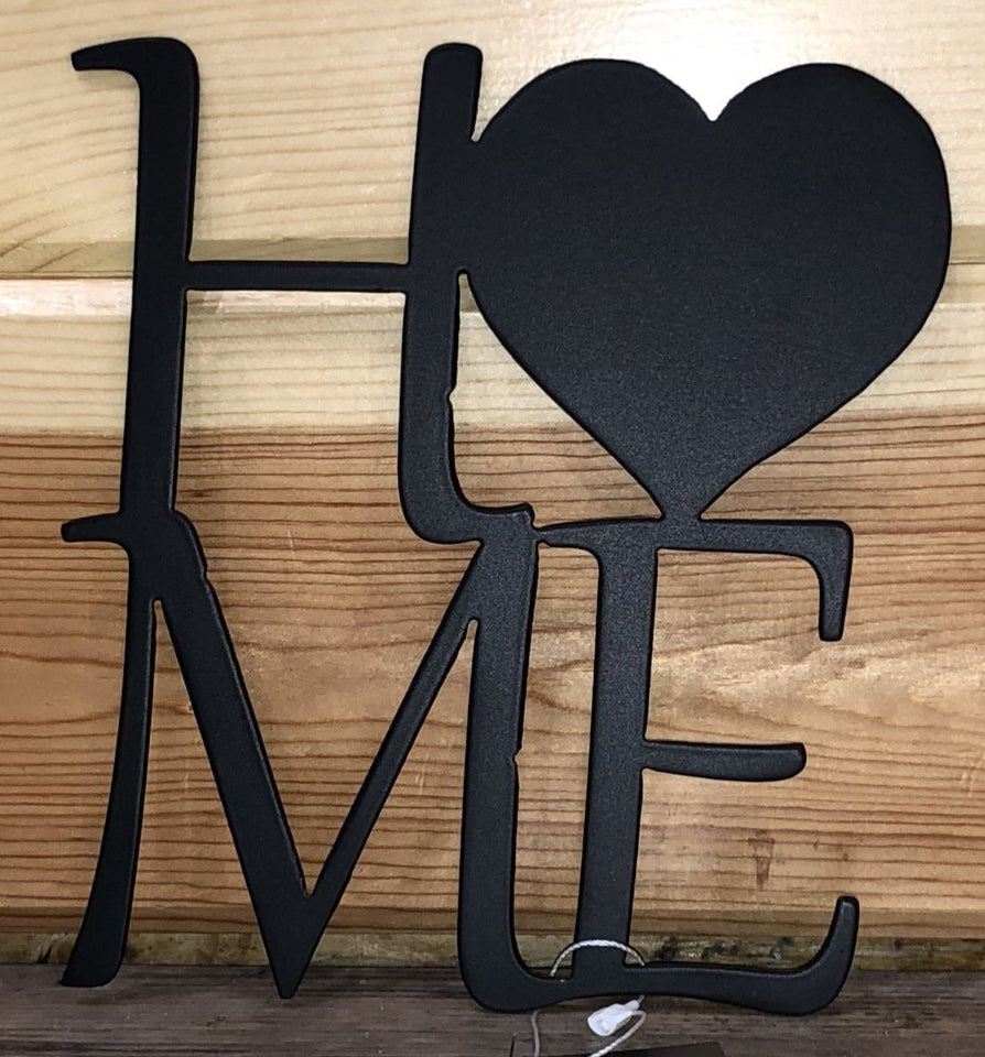 Home with Heart Metal Art - Cut'N Creations