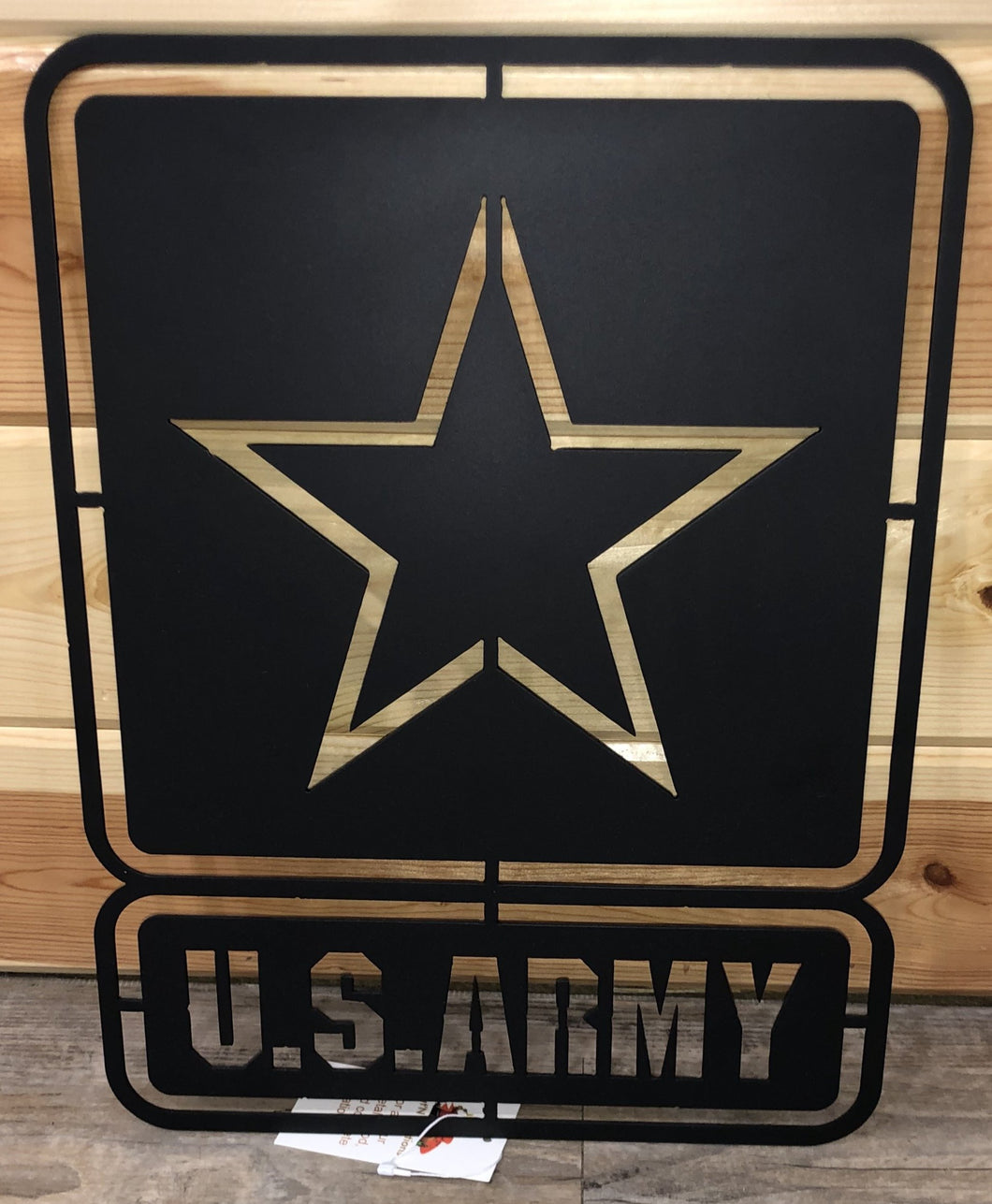 United States Army Star Emblem wall hanging metal art - cut'n creations