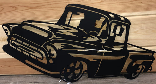 1957 Chevy Pickup Metal Art