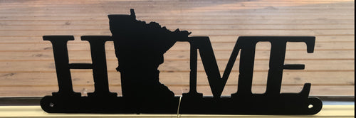 Home Minnesota Wall Hanging Metal Art - cut'n creations