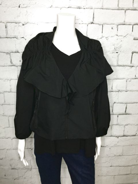 ST. JOHN Size 12 Black Jacket