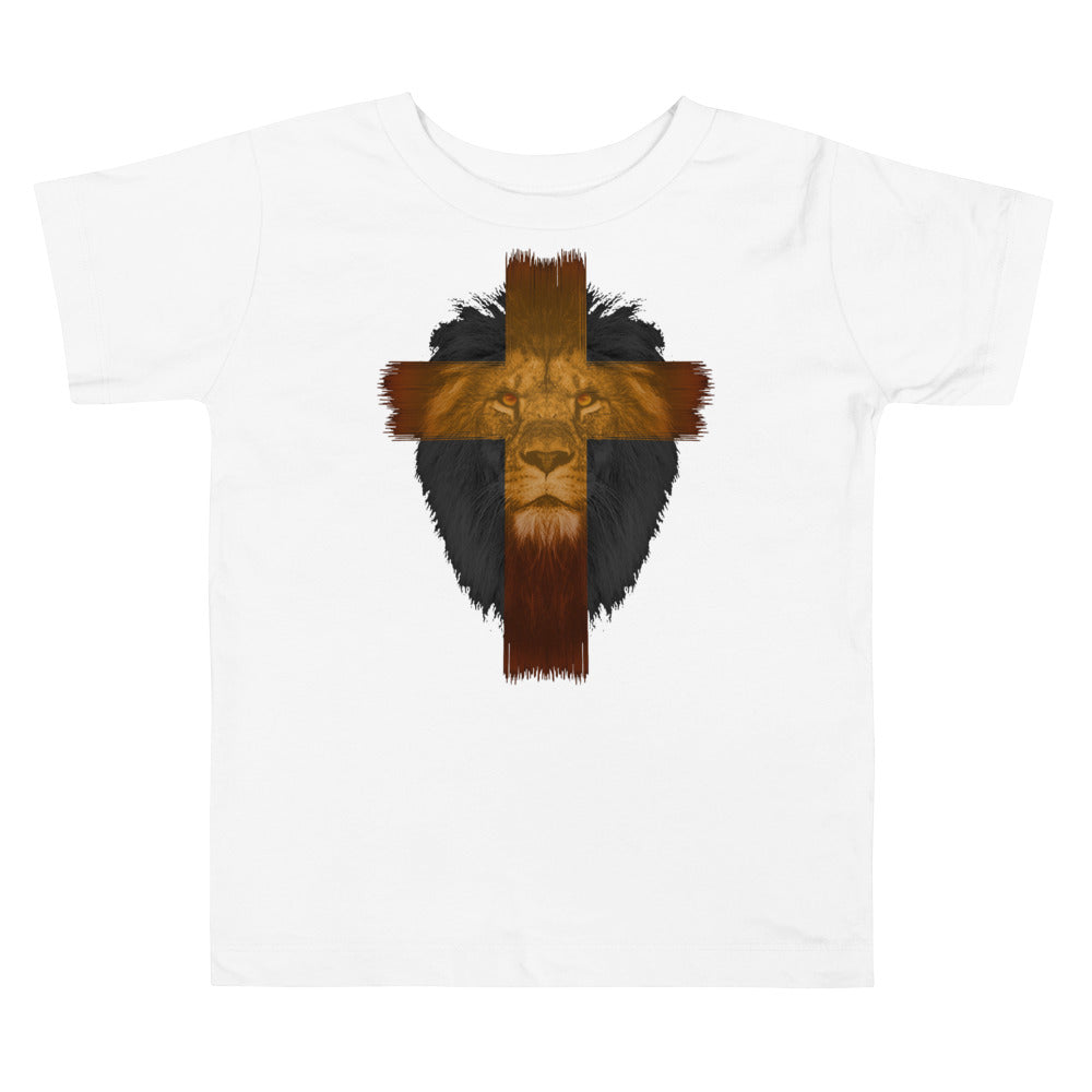 Lion Of Judah Toddler Size Christian T Shirt White