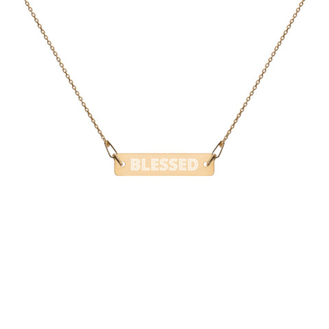 Blessed 24k Gold Coated Silver Necklace