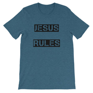 Jesus Rules Shirt 1 Unisex