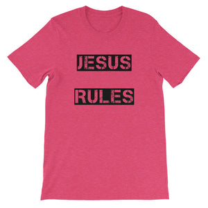 Jesus Rules Shirt 2 Unisex