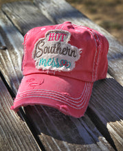 "Women's ""Hot Southern Mess"" Vintage Style Cap"