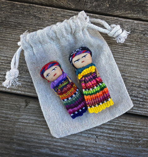Authentic Hand Made Guatemalan Worry Dolls