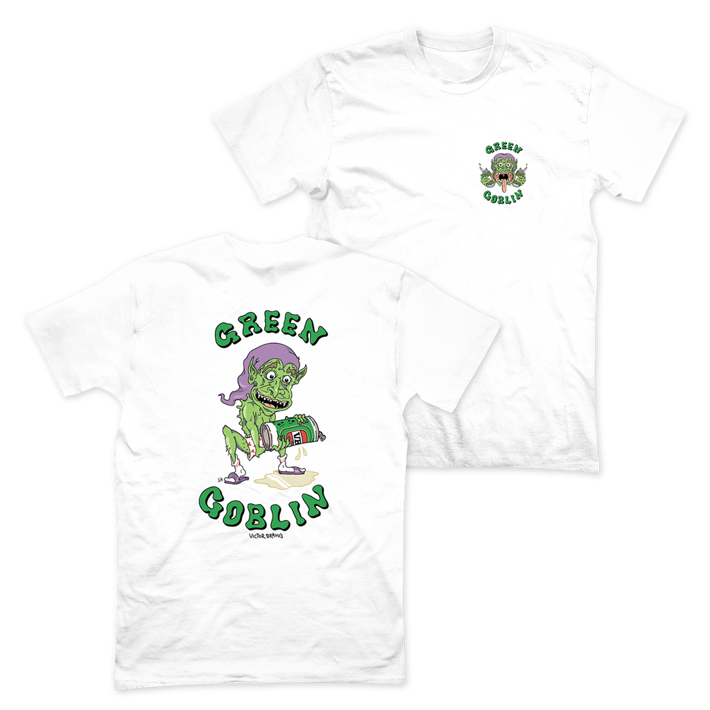 Green Goblin T-Shirt White