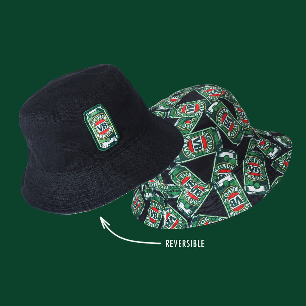 Cans Reversible Bucket Hat