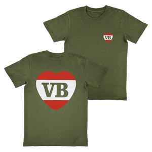 Crush T-Shirt Army Green