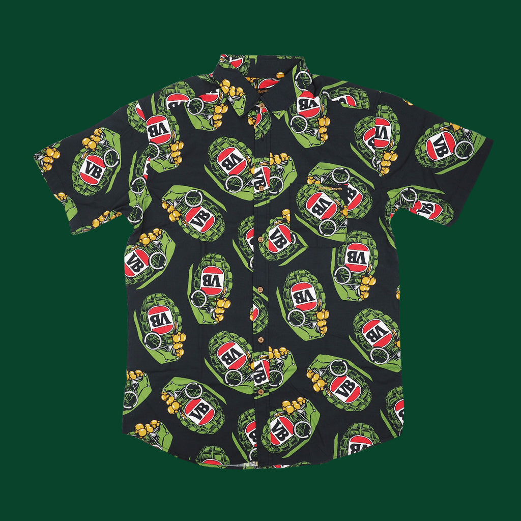 Big Green Grenade Party Shirt