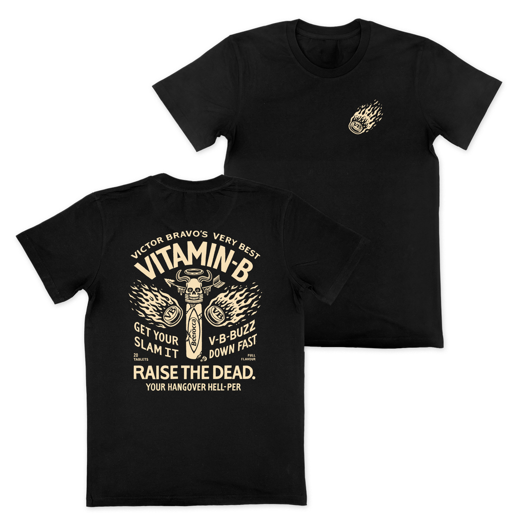 Vitamin B T-Shirt Black