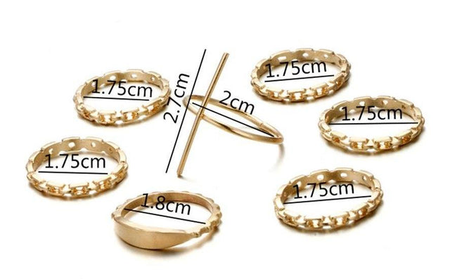 Cross ring set
