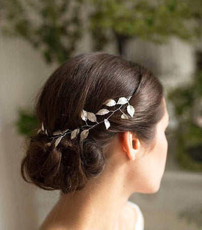 Forest leaf head band