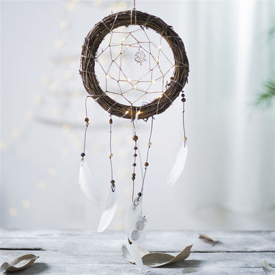 Tree of Life treehouse fairy light dream catcher