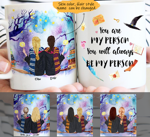 Customize Mug - Sisters forever- Best friends - Besties forever