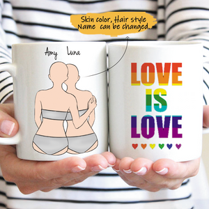 Customize Mug Gift for TGBT-Gril And Gril