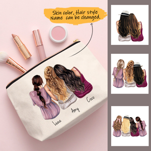 Customize Sisters-Friend Cosmetic Bag