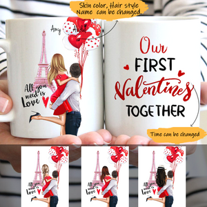 Customize Mug Happy Valentine's Day-My Love Forever