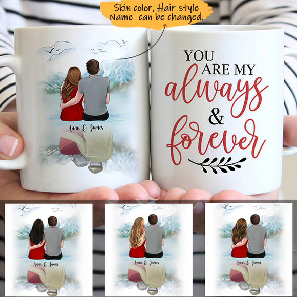 Customize Mug Gift for Couple- Lakeside