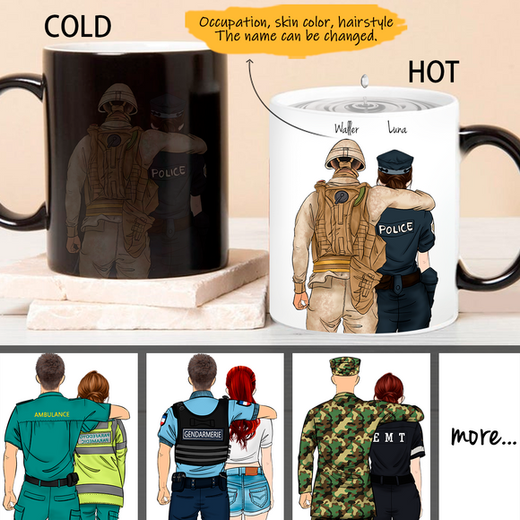 Customize Color Changing Mug Boy&Gril