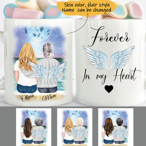 Customize Mug Gift for Family Mom And Daughter