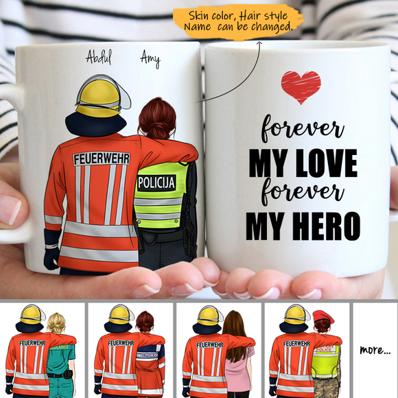 Customize Mug - FiremanGermany - Fireman