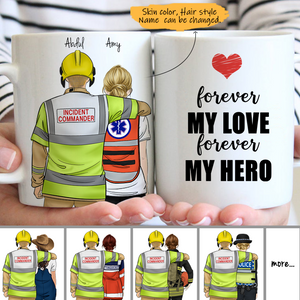 Customize Mug - IncidentCommanderUK - Fireman