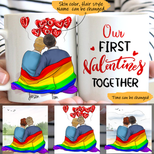 Customize Mug-LGBT -Boy And Boy-My Lover