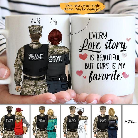 Customize Mug - Military Police US - Police