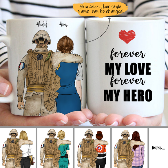 Customize Mug - SoldierFrance - Soldier