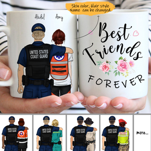 Customize Mug - Coast Guard - Police