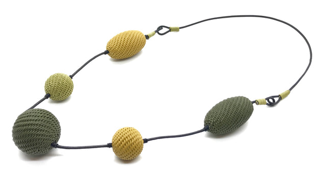 Telephone Wire Necklace Cocoon