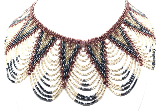 Beaded Necklace VV