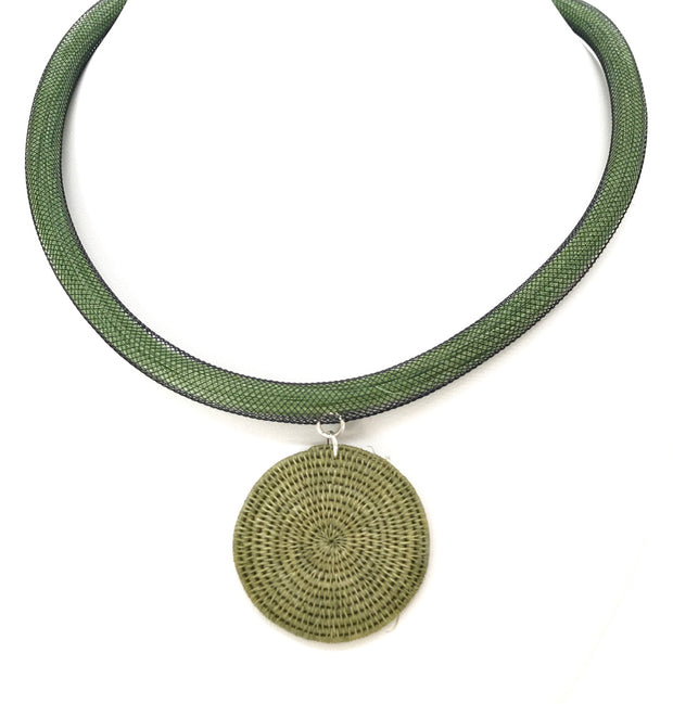 Sisal Lattice Necklace