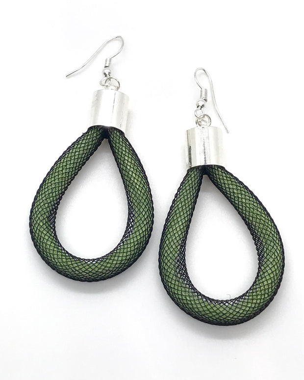 Sisal Lattice Earring