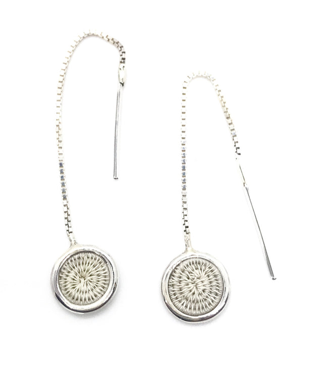 Sisal Pull Through Earring