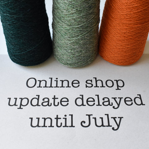 Shop Update Delayed