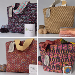 The Indie Dyers' Woolly Bags