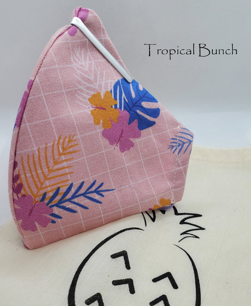 Tropical Leaves Collection - Pineapple and pink