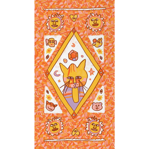 Hot Major Arcana Kitty Value Fleece Blanky
