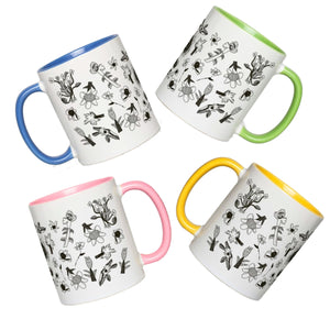 Tea Time for Four  Mug Bundle