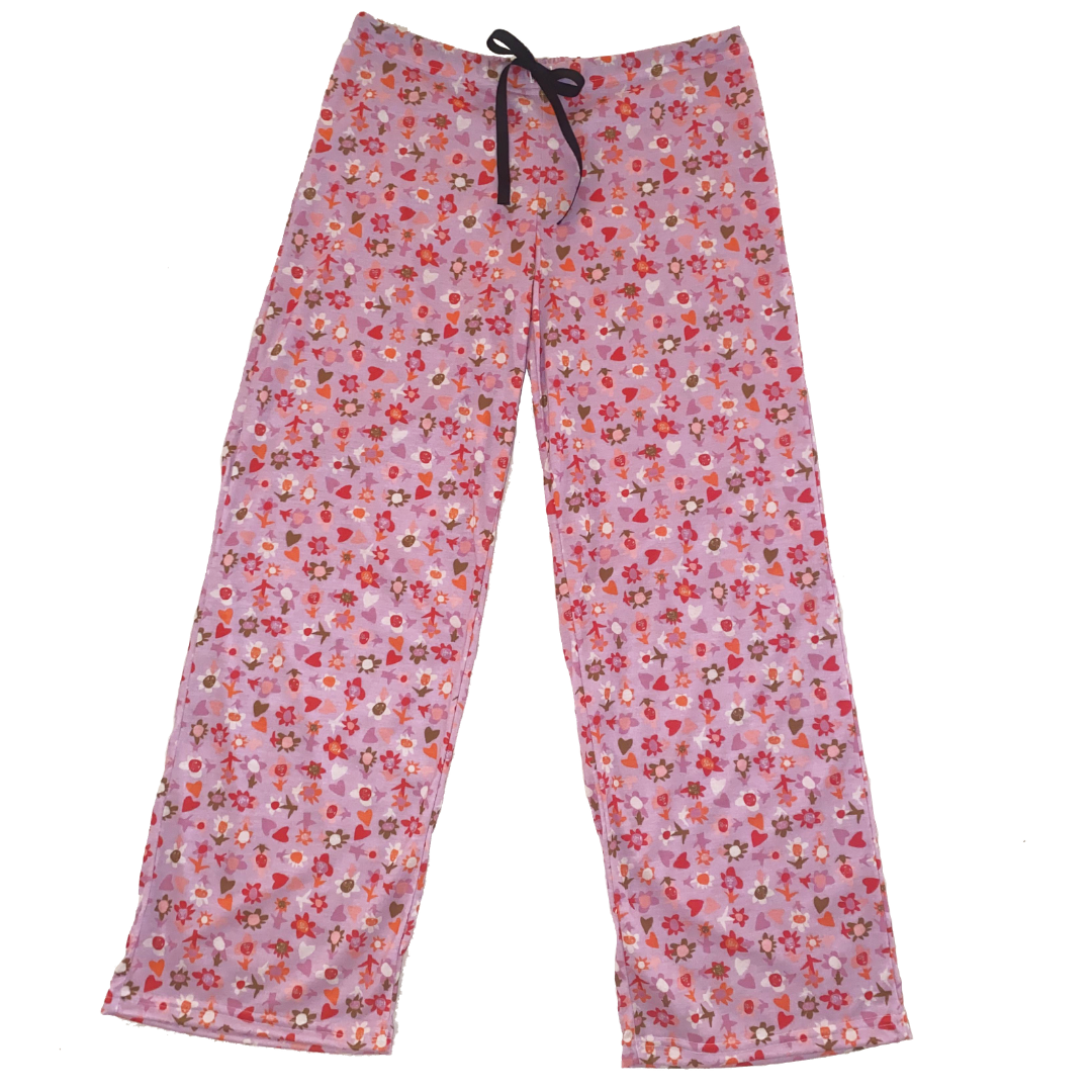 Blooming Hearts Loungewear Bottoms