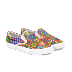 16 Squares Slip On Shoe