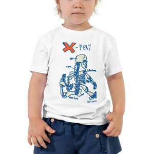 X is for X-Ray Toddler Tee