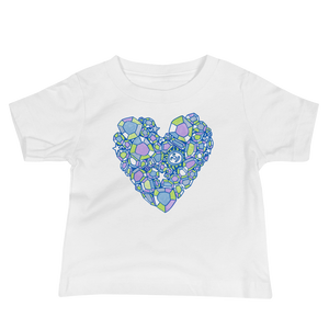 Love is a Gem Baby Tee - Cool