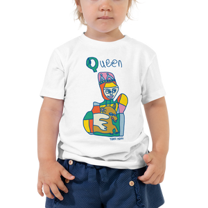 Q is for Queen Toddler Tee
