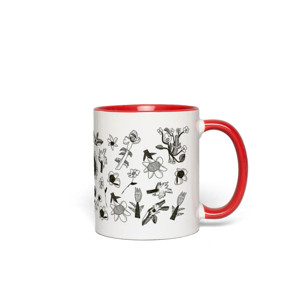 Stone & Etch Mug in Black Watermelon