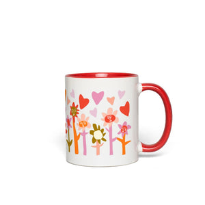 Blooming Hearts Love Mug