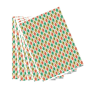 Who That? Vanilla Midori Wrapping Paper - 5 Sheets